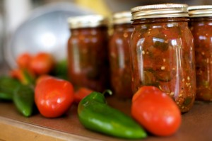 Canning Tomato Salsa, Acapulcos Mexican Restuarant