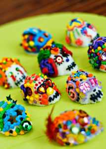 Mexican Sugar Skulls, Acapulcos Mexican Restaurant, MA and CT
