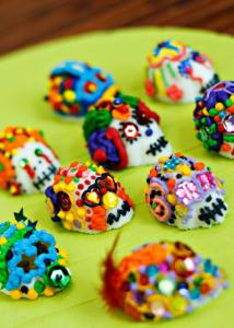 Mexican Sugar Skulls, Acapulcos Mexican Restaurant, MA and CT
